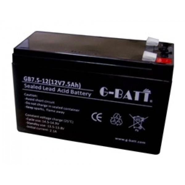 ΜΠΑΤΑΡΙΑ ΜΟΛΥΒΔΟΥ 12V-7.5AH G-BATT