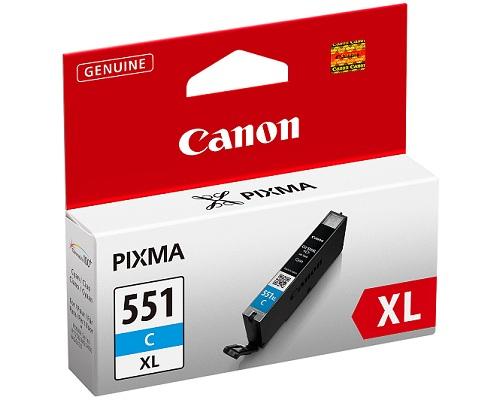 ΜΕΛΑΝΙ CANON CLI-551C IP7250 CYAN CRTR