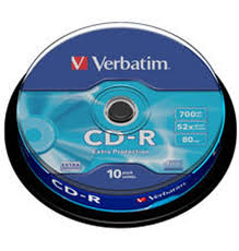 CD-R VERBATIM 700mb 52x (10 PACK)