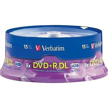 DVD-R VERBATIM 15 PACK