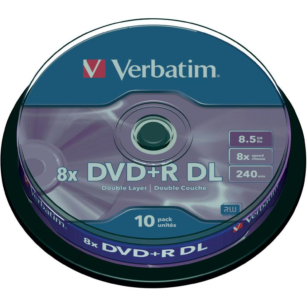 DVD+R DL 8.5GB VERBATIM