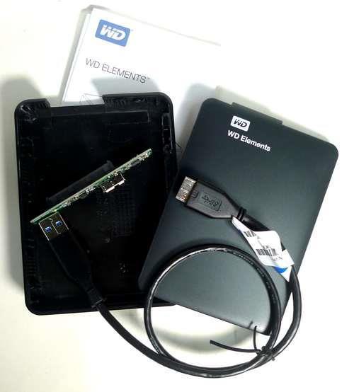 ENCLOSURE 2.5 HDD USB 2.0/3.0 WD