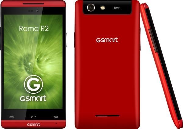 ΚΙΝΗΤΟ GSMART ROMA R2 4′ RED