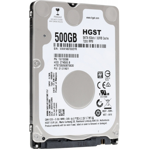 ΔΙΣΚΟΣ HDD HITACHI 500GB 2.5 SATA