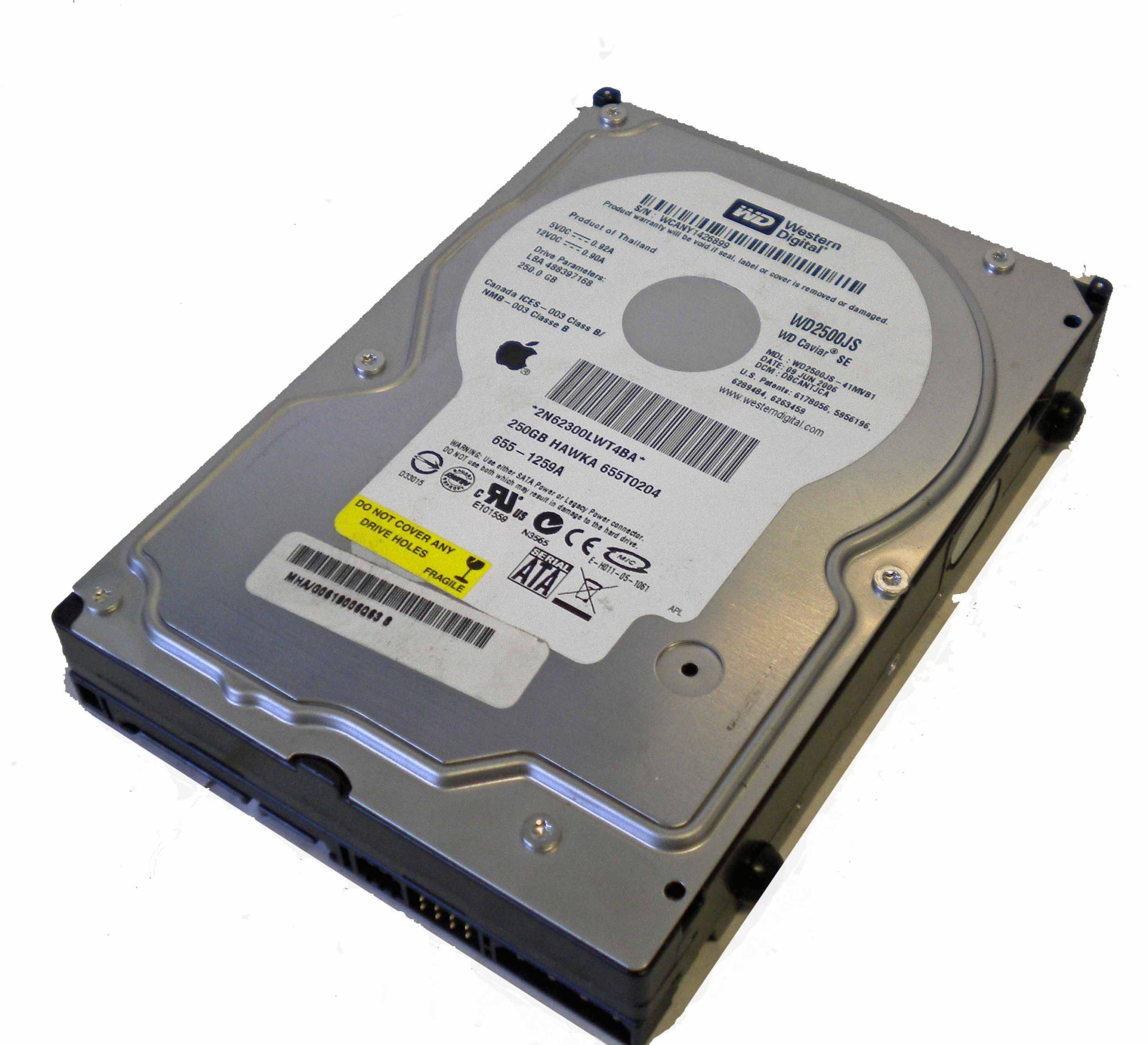 ΔΙΣΚΟΣ HDD WD 250GB 3.5 SATA