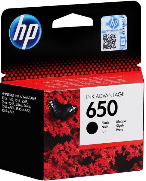 ΜΕΛΑΝΙ HP No 650  INK ADVANTAGE