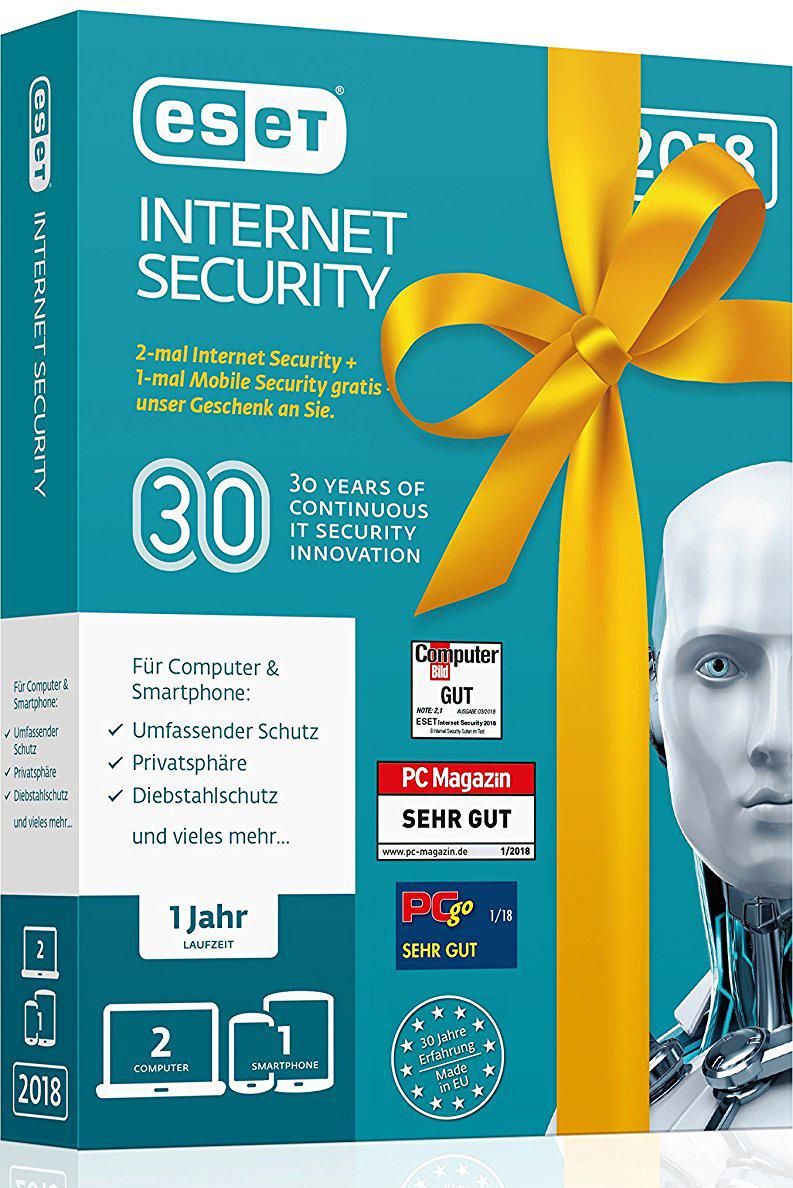 INTERNET SEC. ESET NOD32 2+1 BIRTHDAY EDITION