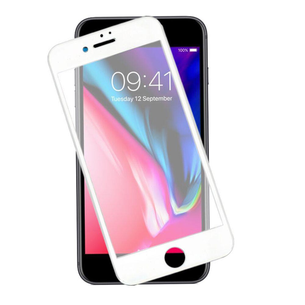 ΤΖΑΜΙ ΚΙΝΗΤΟΥ IPHONE 7/8 5D WHITE