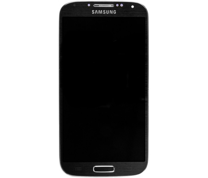 LCD ORIGINAL SAMSUNG S4 WITH FRAME BLACK