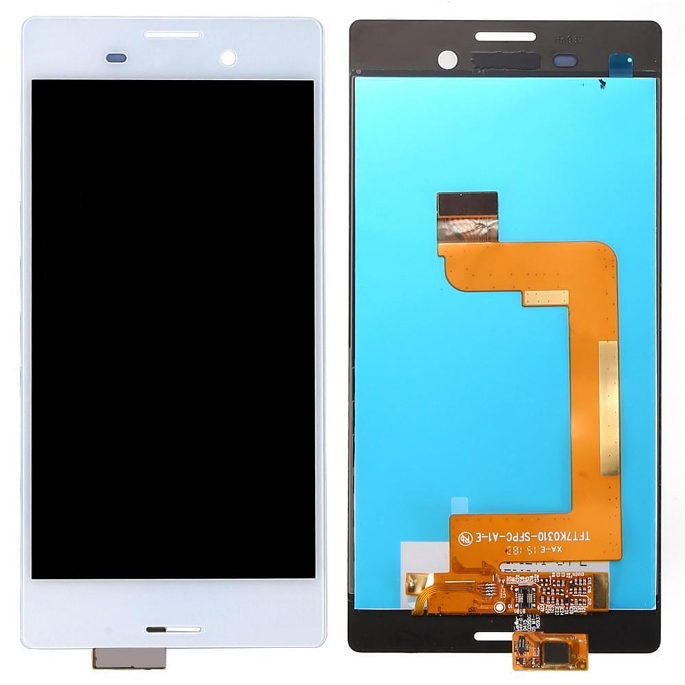 ΟΘΟΝΗ LCD ΓΙΑ SONY M4 AQUA WHITE USED