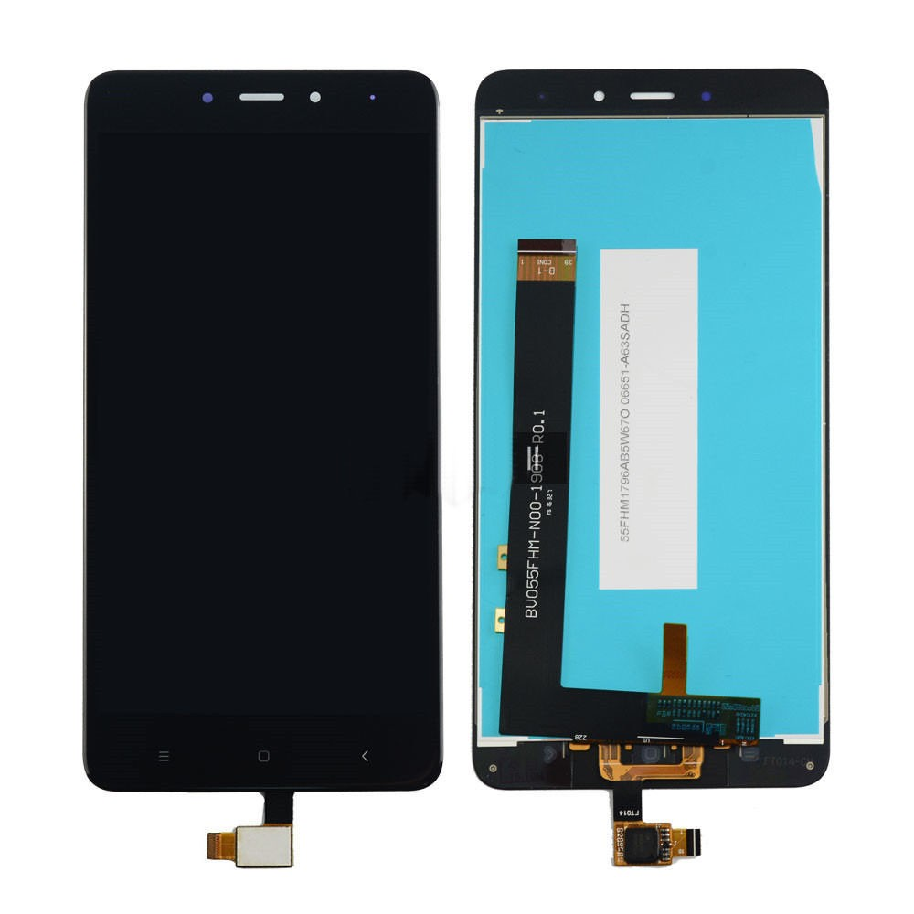 ΟΘΟΝΗ LCD ΓΙΑ XIAOMI NOTE 4 / 4X BLACK SNAP