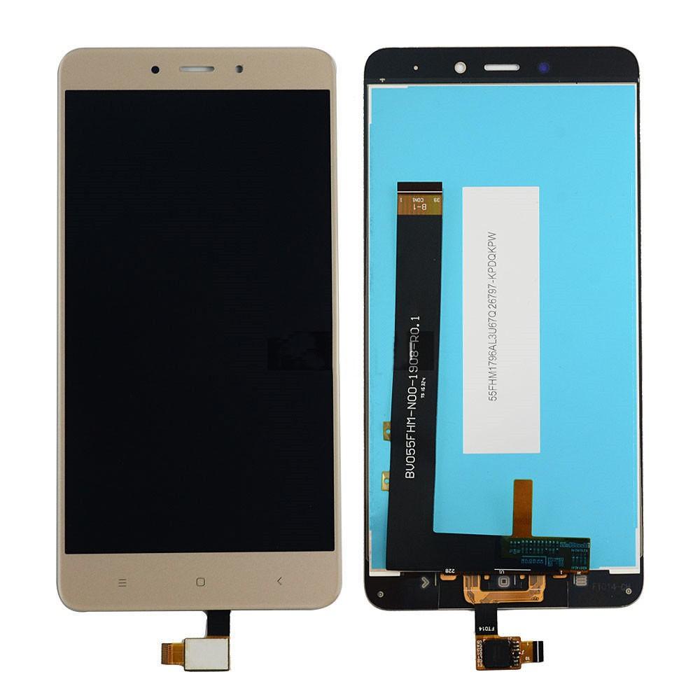 ΟΘΟΝΗ LCD ΓΙΑ XIAOMI NOTE 4X GOLD SNAPDRAGON