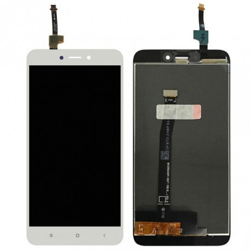 ΟΘΟΝΗ LCD ΓΙΑ XIAOMI NOTE 4X WHITE SNAPDRAGON