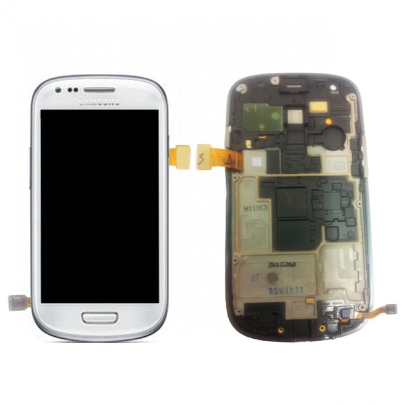 LCD ORIGINAL SAMSUNG S3 MINI /8190 WHITE