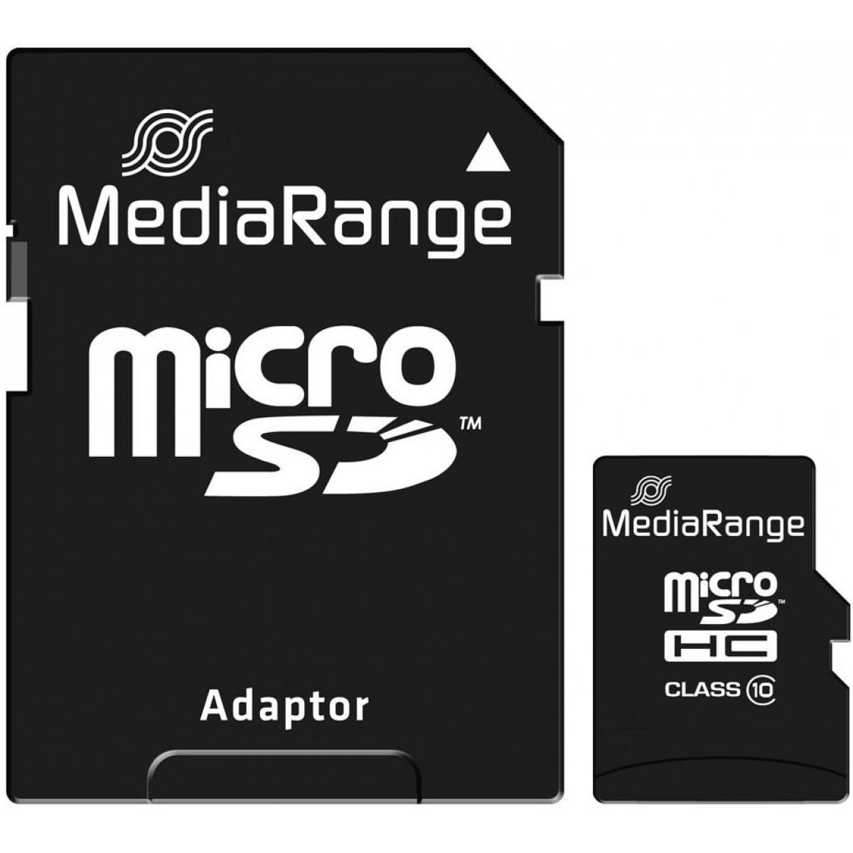 ΜΝΗΜΗ MICRO SD 16GB MEDIARANGE