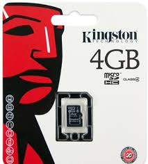 ΜΝΗΜΗ MICRO SD 4GB KINGSTON