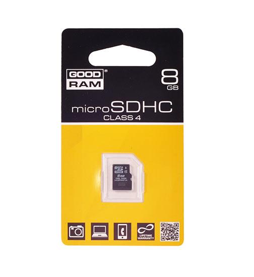 ΜΝΗΜΗ MICRO SD 8GB GOOD RAM