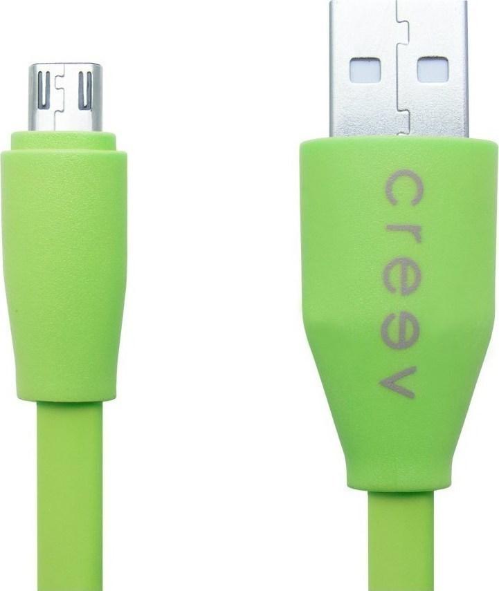 ΚΑΛΩΔΙΟ MICRO USB MU-100F GREEN CRYPTO