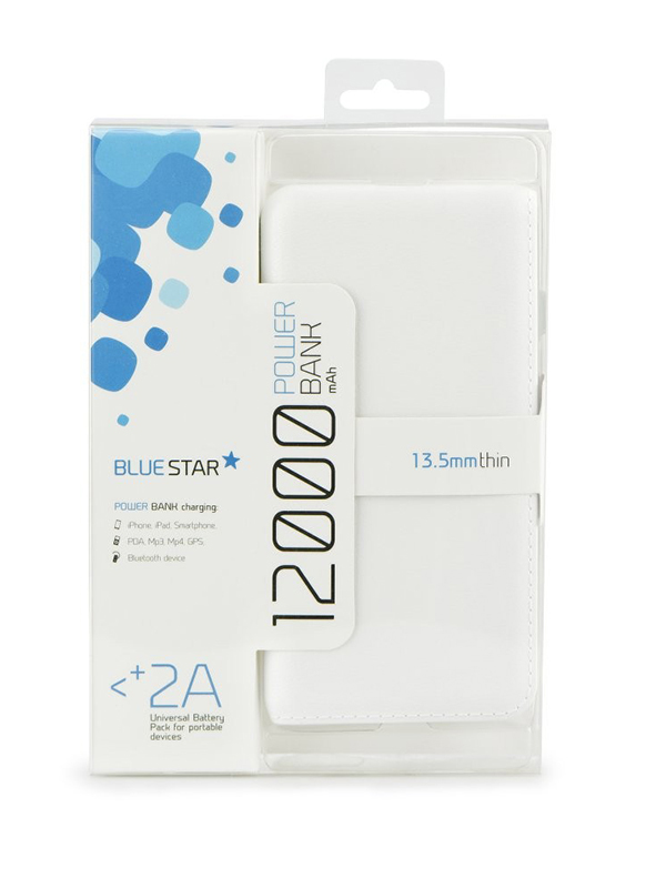 POWER BANK 12000MAH BLUE STAR