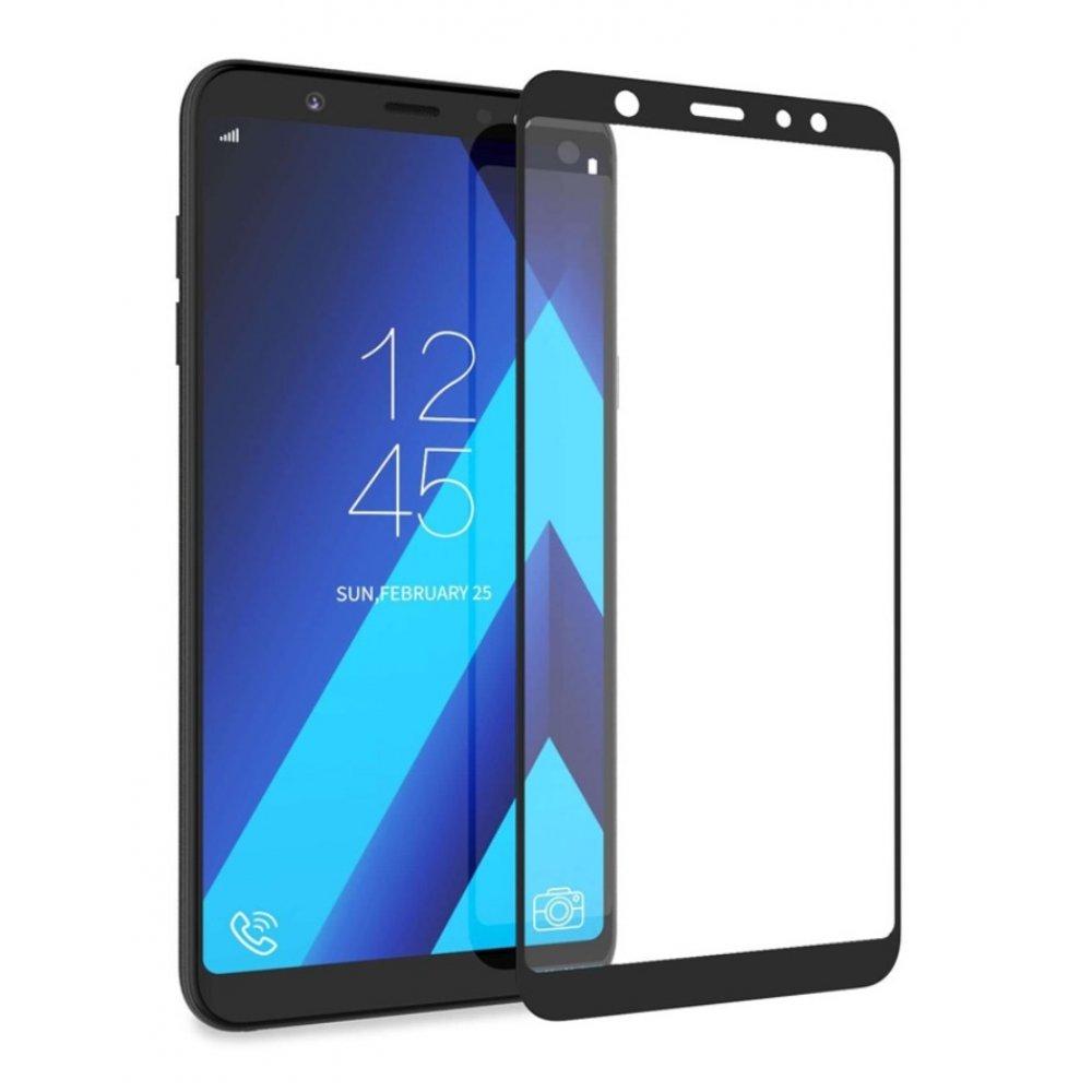 ΤΖΑΜΙ ΚΙΝΗΤΟΥ SAMSUNG A6 2018 5D BLACK
