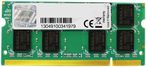 ΜΝΗΜΗ RAM 1GB SODIM DDR2 800MHZ