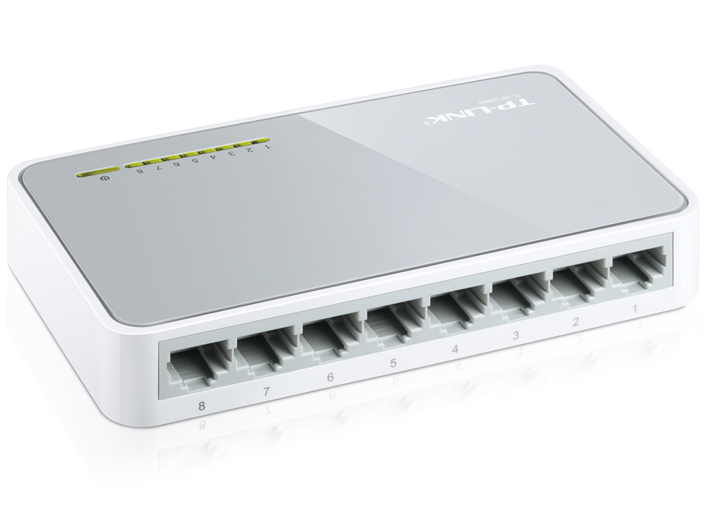 SWITCH ΔΙΚΤΥΟΥ 8 PORT TP-LINK TL-SF1008D