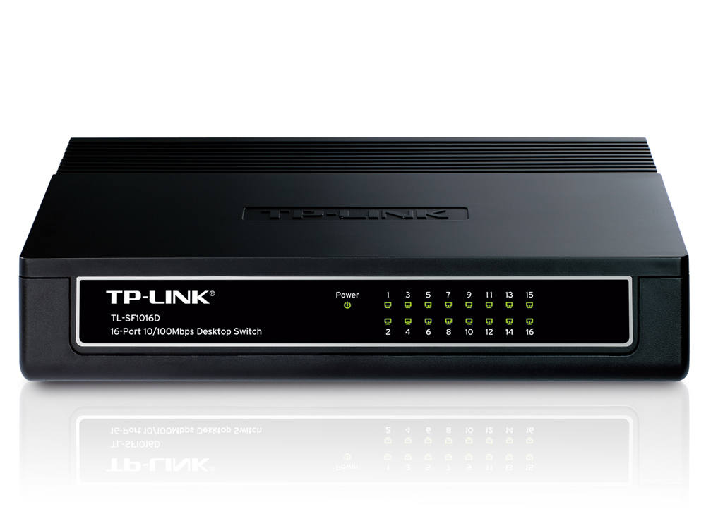 SWITCH ΔΙΚΤΥΟΥ 16 PORT TP-LINK TL-SF1016D