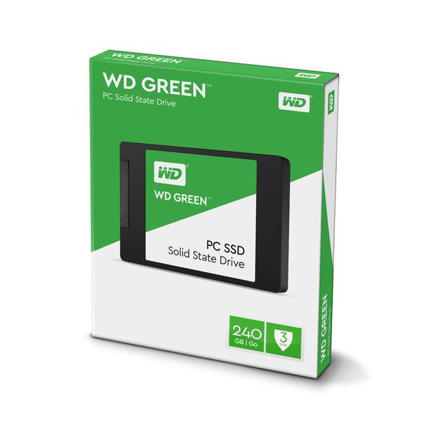 ΔΙΣΚΟΣ SSD WD GREEN 2.5″ SATA 3 240GB 540/465 WDS240G1G0A