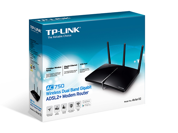 WIFI MODEM ROUTER TP-LINK AC750