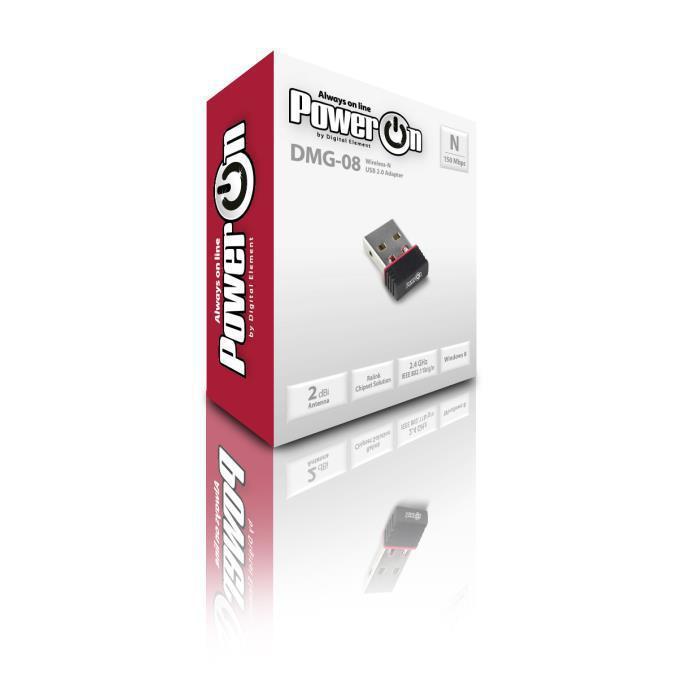 WIFI USB POWER ON DMG-08