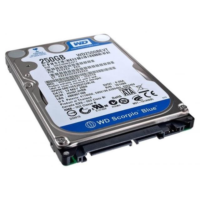 ΔΙΣΚΟΣ HDD WD 250GB 2.5 SATA