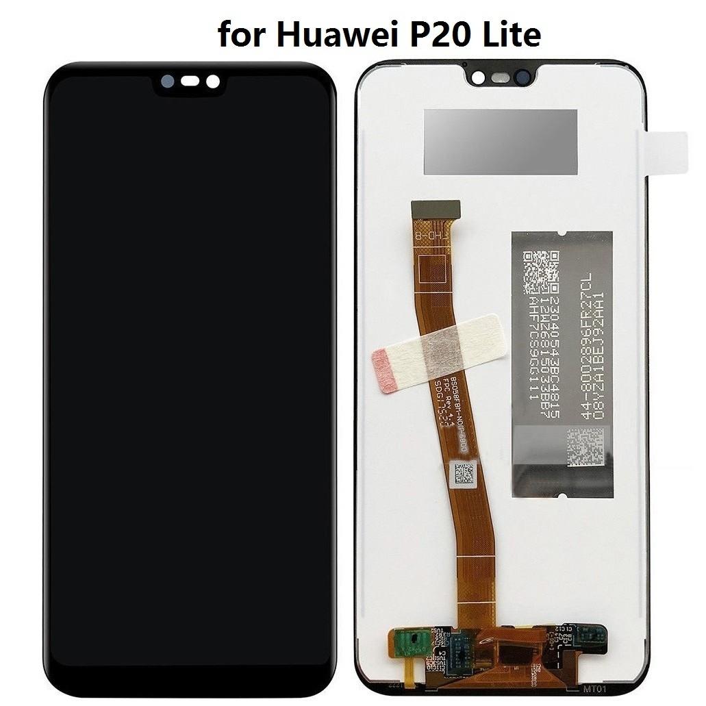 ΟΘΟΝΗ LCD ΓΙΑ HUAWEI P20 LITE BLACK OEM