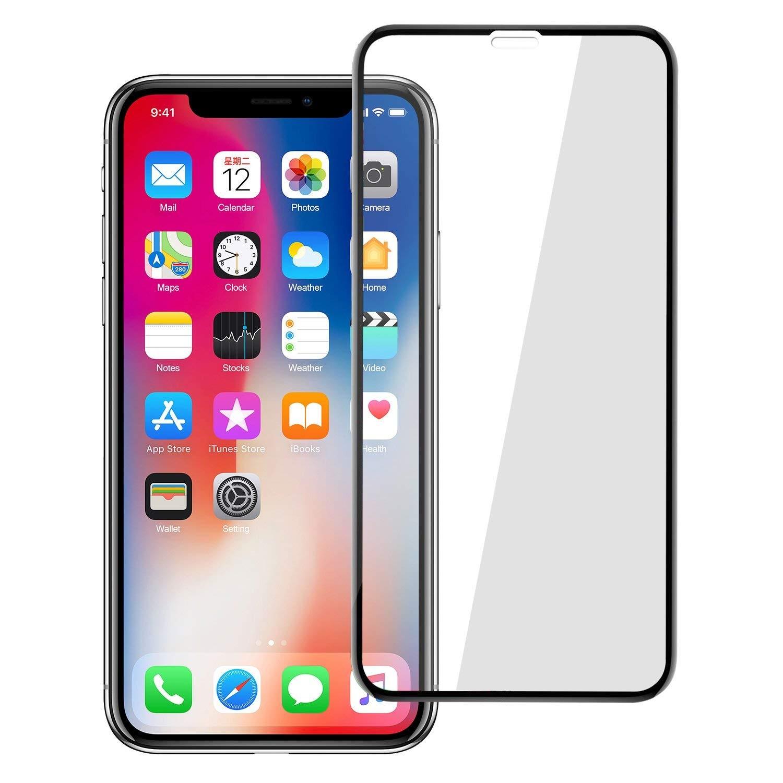 ΤΖΑΜΙ ΚΙΝΗΤΟΥ IPHONE XS MAX 5D BLACK/WHITE