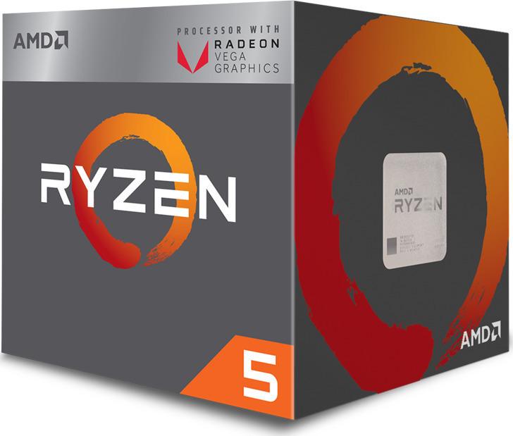 ΕΠΕΞΕΡΓΑΣΤΗΣ AMD RYZEN 5 2400 BOX