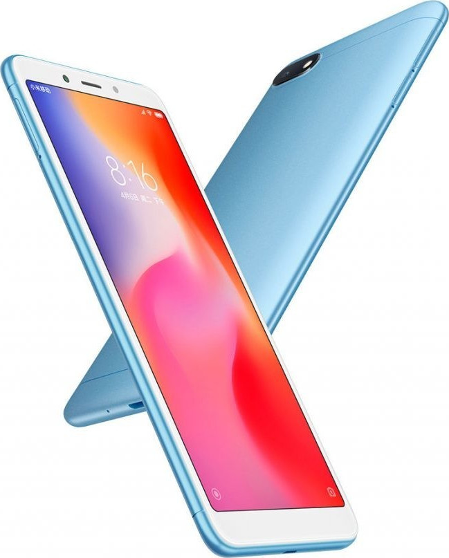 ΚΙΝΗΤΟ XIAOMI REDMI 6A BLUE 16GB