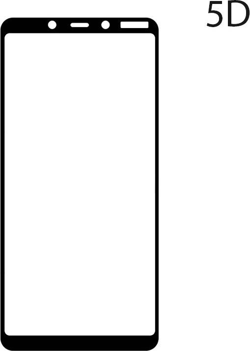 ΤΖΑΜΙ ΚΙΝΗΤΟΥ NOKIA 3.1 PLUS 5D BLACK