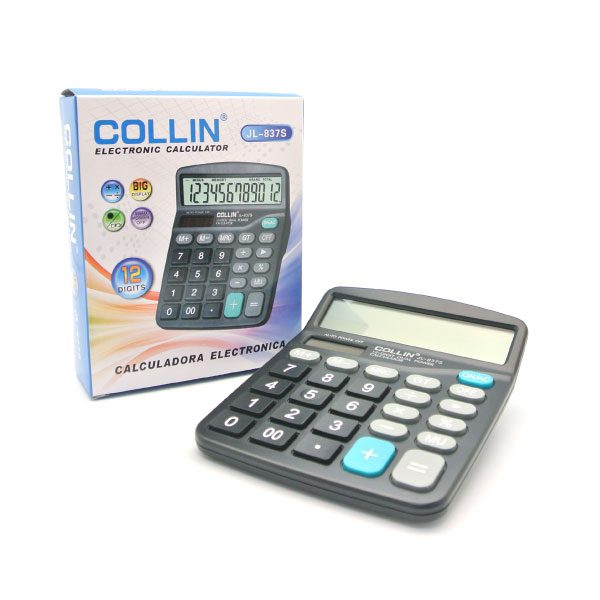 CALCULATOR JL-837-12S