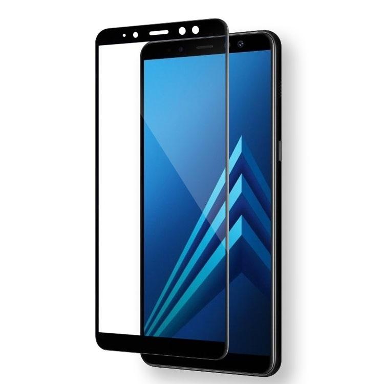 ΤΖΑΜΙ ΚΙΝΗΤΟΥ SAMSUNG A8 PLUS 2018 5D BLACK