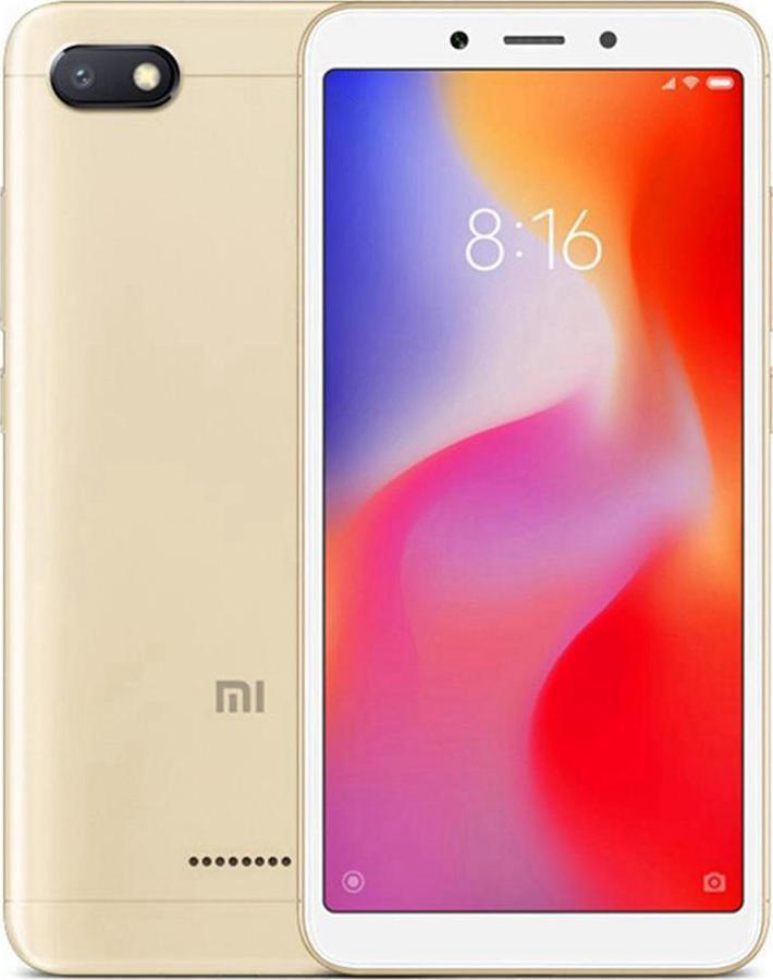 ΚΙΝΗΤΟ XIAOMI REDMI 6A GOLD 16GB