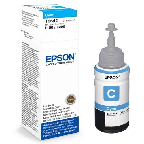 ΜΕΛΑΝΙ EPSON INKJET BOTTLE CYAN