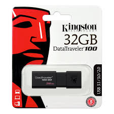 ΜΝΗΜΗ USB FLASH 32GB KINGSTON DT100 G3