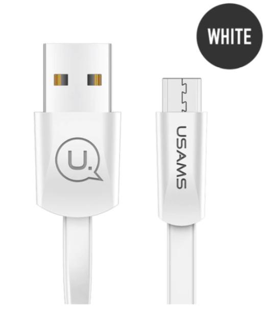 ΚΑΛΩΔΙΟ MICRO USB USAMS 1.2M US-SJ200 U2  WHITE