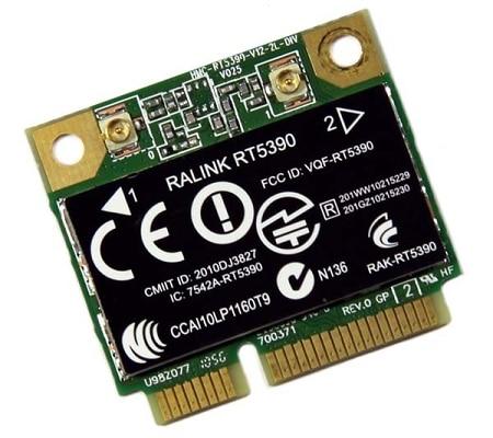 ΚΑΡΤΑ ΔΙΚΤΥΟΥ Ralink RT5390 802.11 B/g/n WiFi WLAN Wireless Half Mini PCIe Express Card