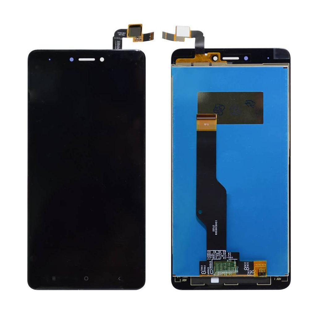 ΟΘΟΝΗ LCD ΓΙΑ XIAOMI NOTE 4X BLACK SNAPDRAGON