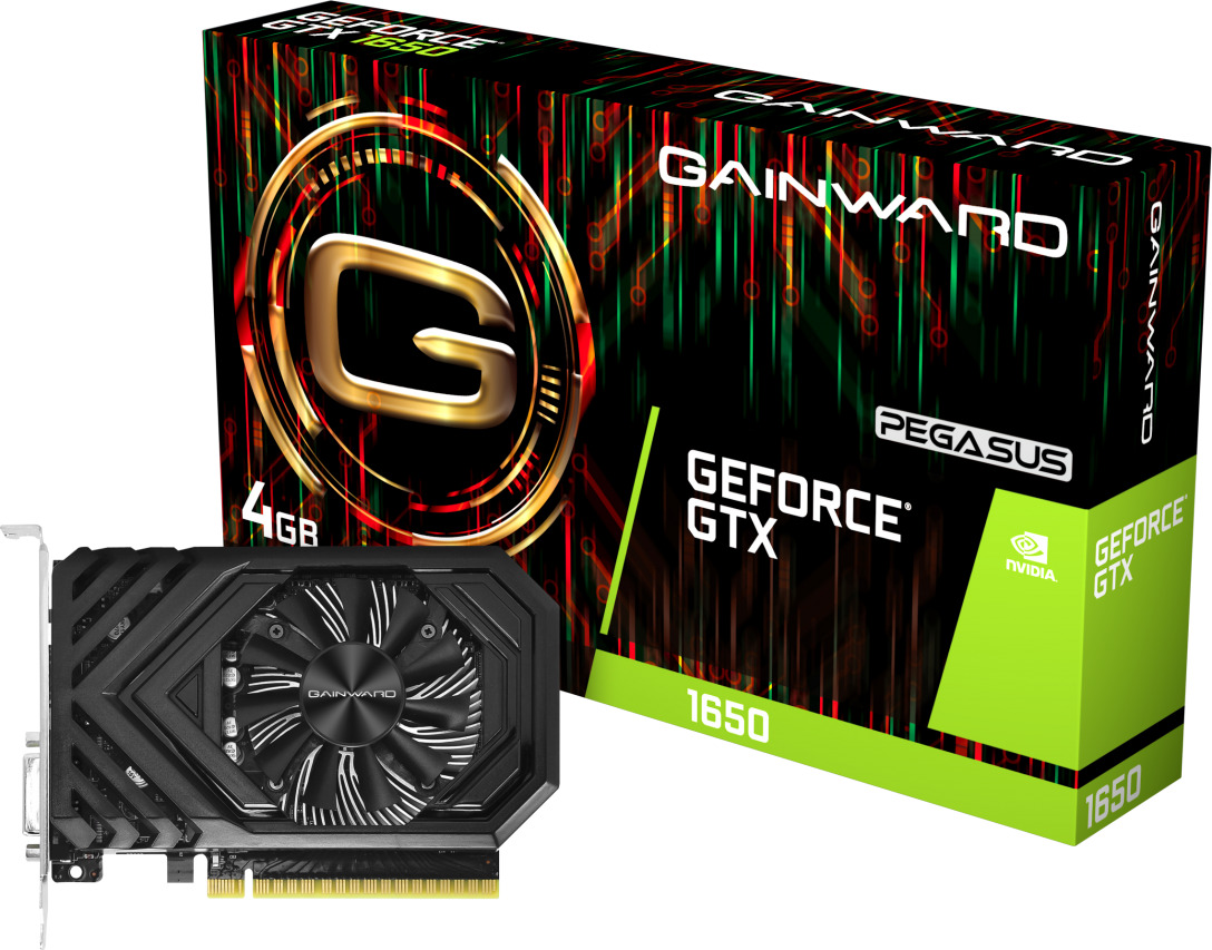 ΚΑΡΤΑ ΓΡΑΦΙΚΩΝ GAINWARD GEFORCE GTX1650 4GB PEGASUS