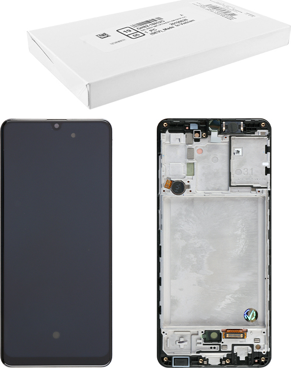 LCD ORIGINAL SAMSUNG A31 A315G GH82-22905A BLACK