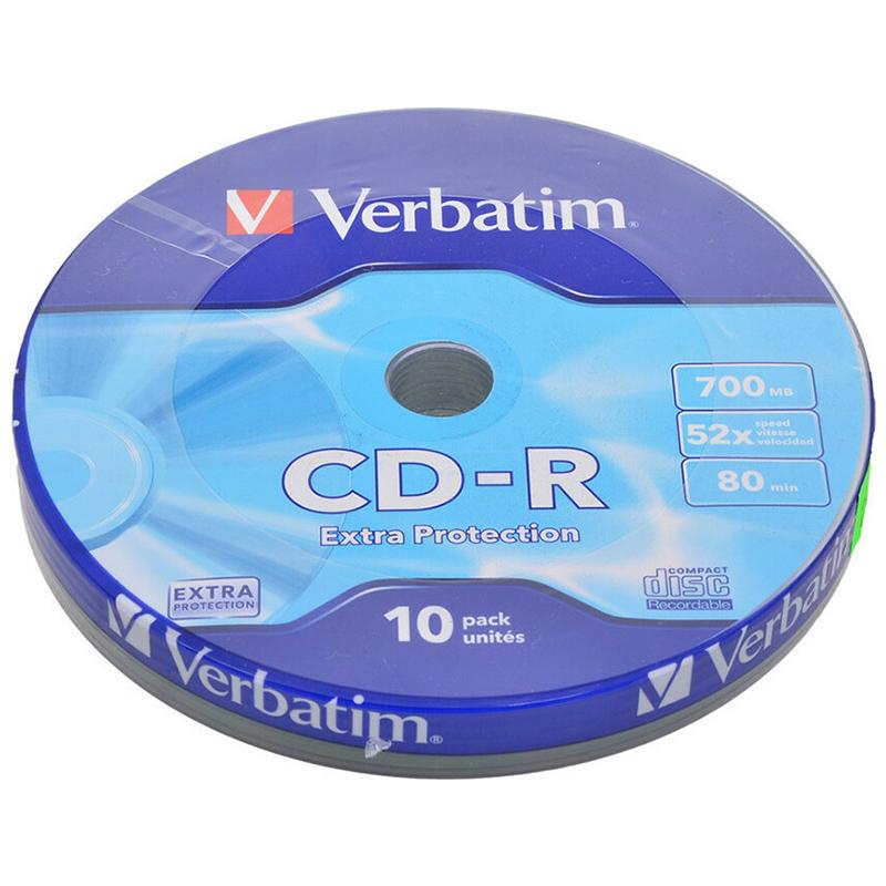CD-R VERBATIM 700mb 52x (10 PACK)