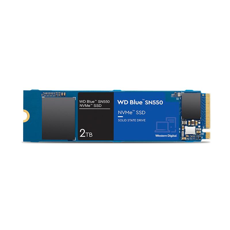 ΔΙΣΚΟΣ SSD WD BLUE M2 250GB SN550 NVME (WDS250F2B0C)