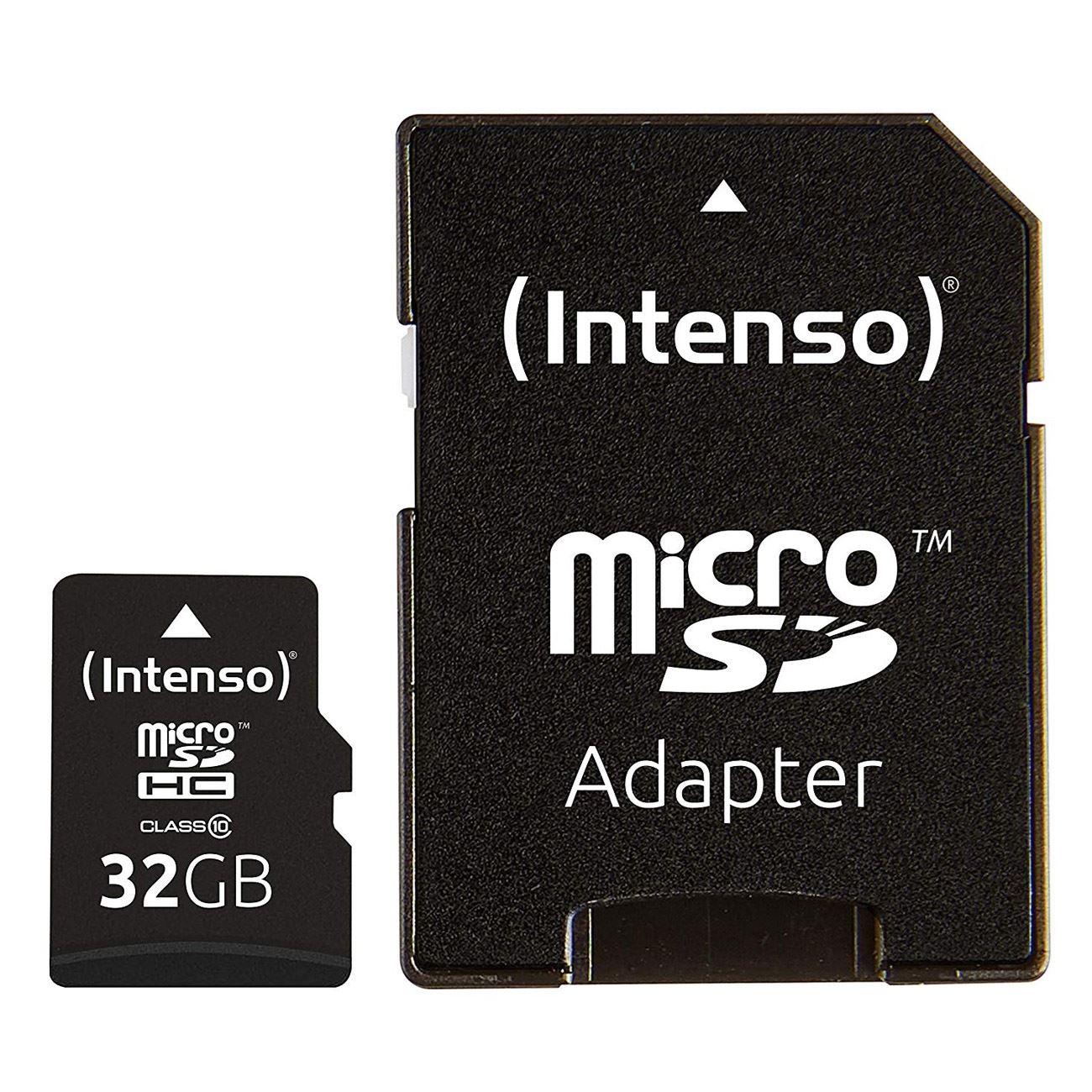 ΜΝΗΜΗ MICRO SD 32GB INTENSO CLASS 10