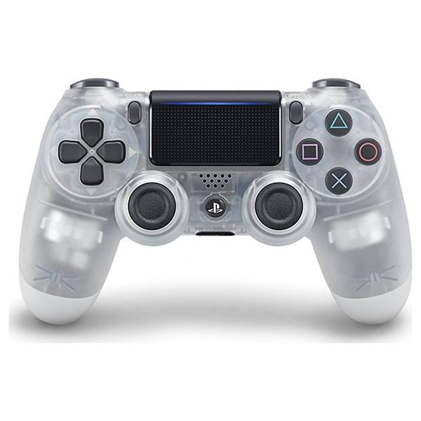 ΧΕΙΡΙΣΤΗΡΙΟ PS4 V2 DUALSHOCK WIRELESS CRYSTAL WHITE